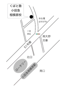くばと地図