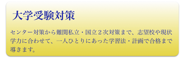 高校生(大学受験対策)