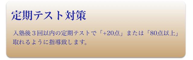 高校生(定期テスト対策)